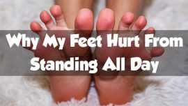 "Standing a real pain in the ""foot"""